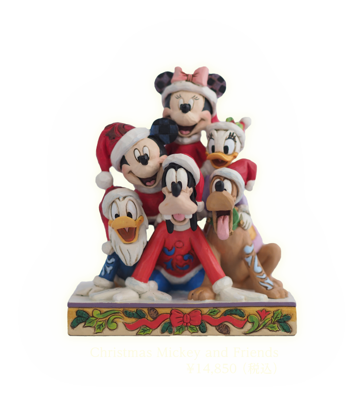 Christmas Mickey and Friends¥14,850 (税込)