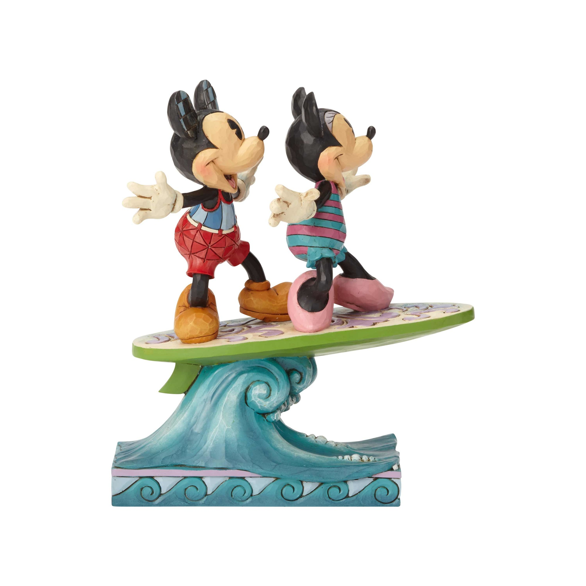 Mickey and Minnie Surfing2