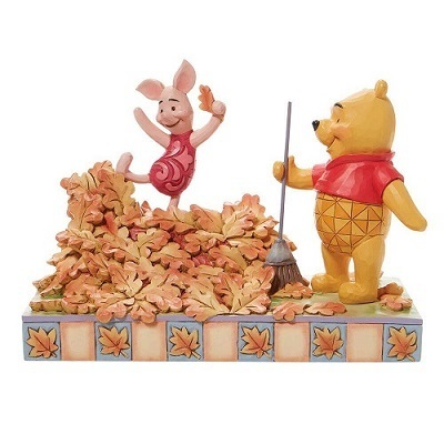 Disney Traditions  6008990  Pooh and Piglet Fall1