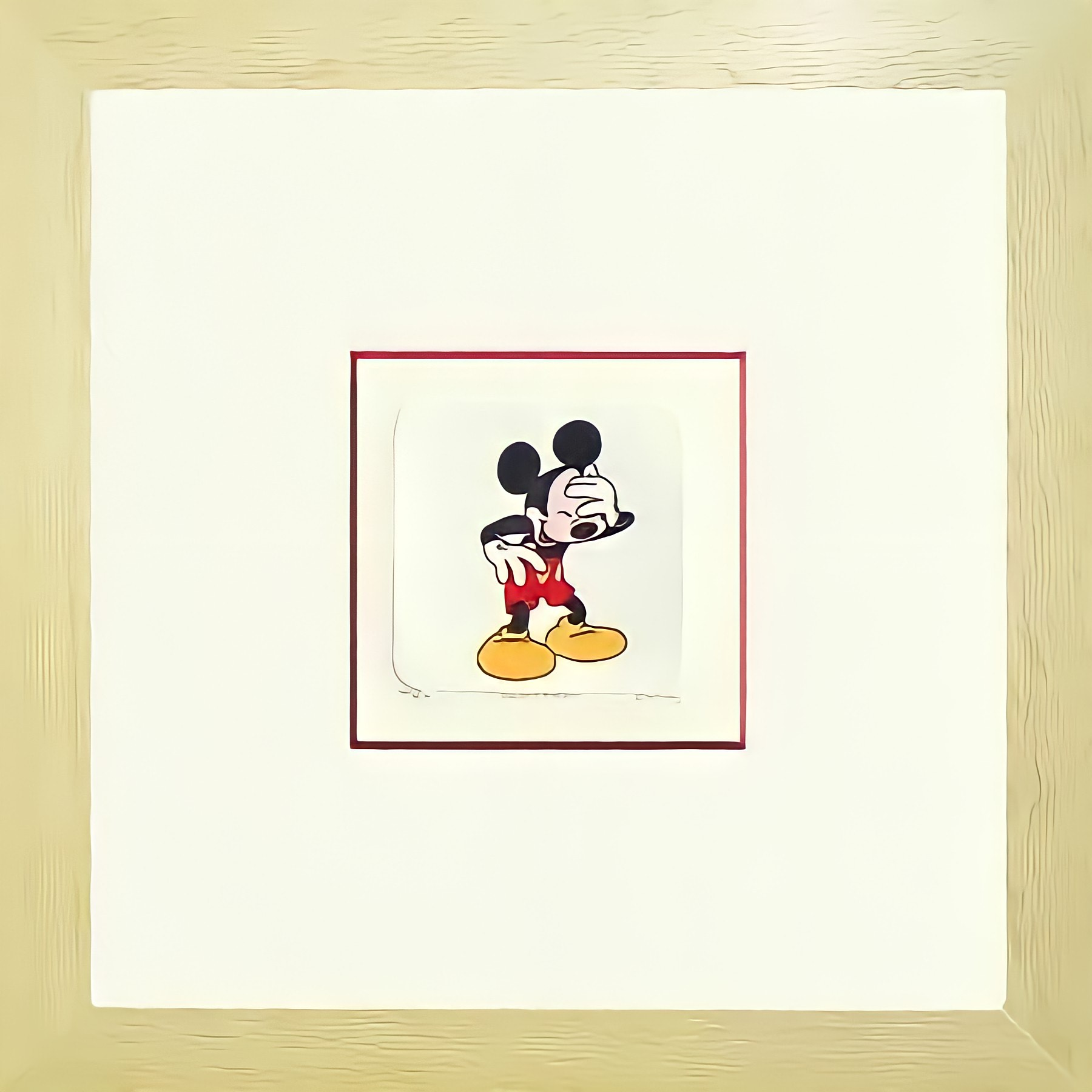 Mickey Etching