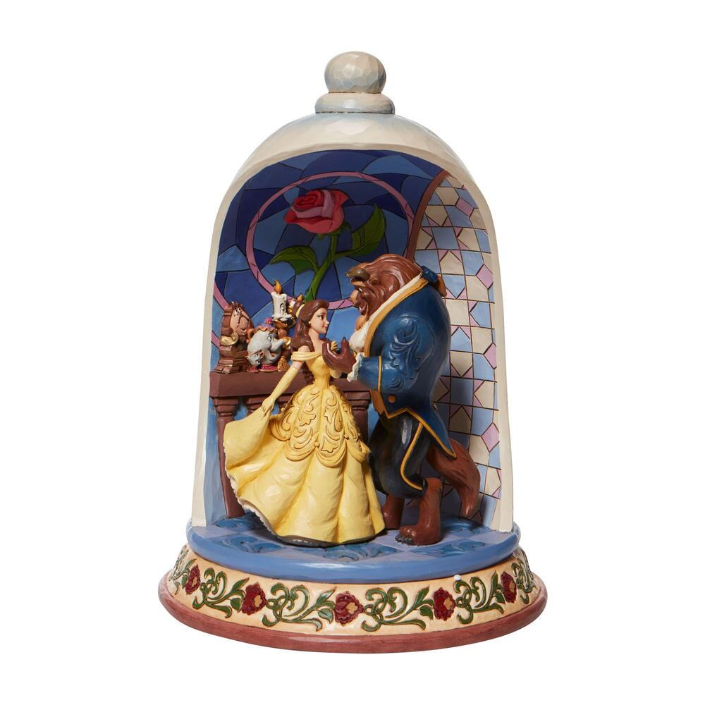 Disney Traditions-Beauty and the Beast Rose Dome